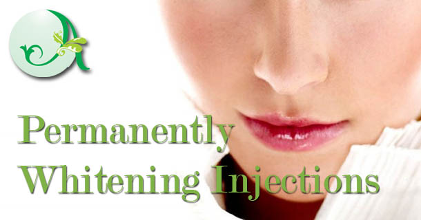 Permanently Whitening Injections